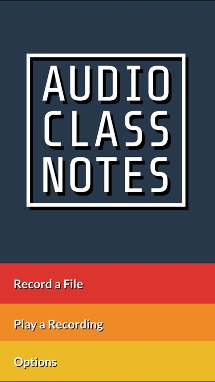 Audio Class Notes - Record, Share, and Tag School Lectures