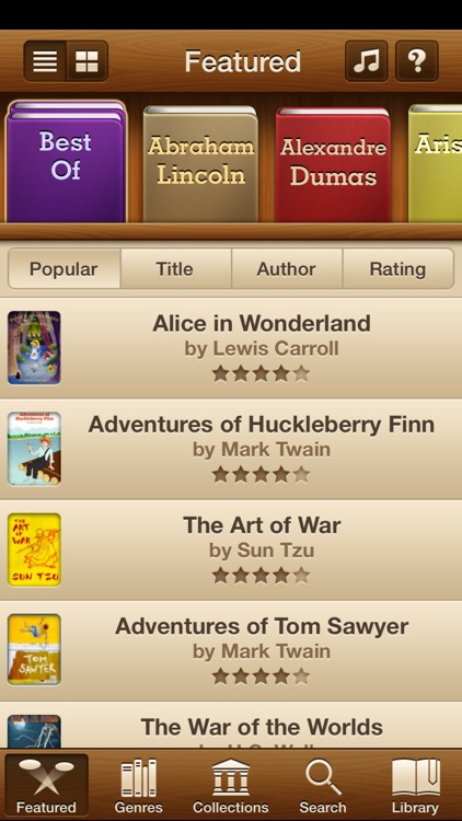 Books - 23,469 Classics To Go. The Ultimate Ebooks And Audiobooks Library screenshot-0