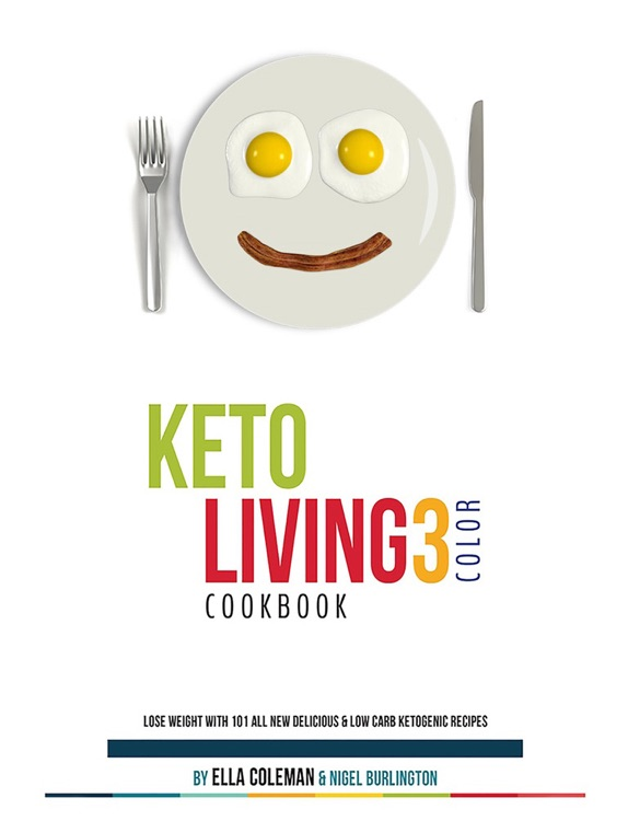 Keto Living Cookbook HD for iPad