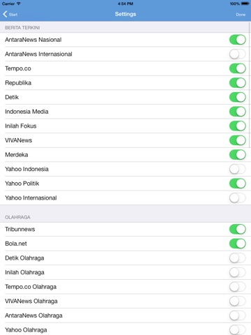 Indonesia Berita News iPad