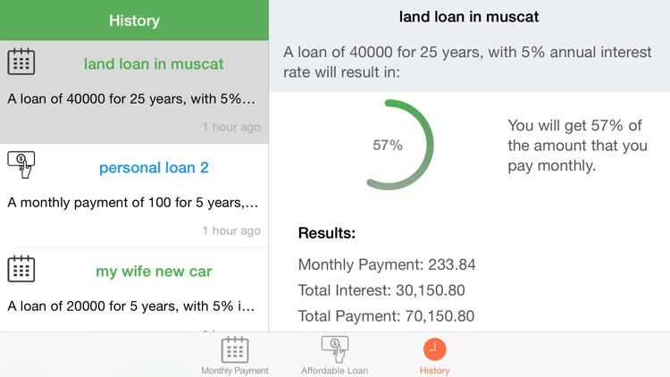 Loans Calculator and Manager screenshot-3