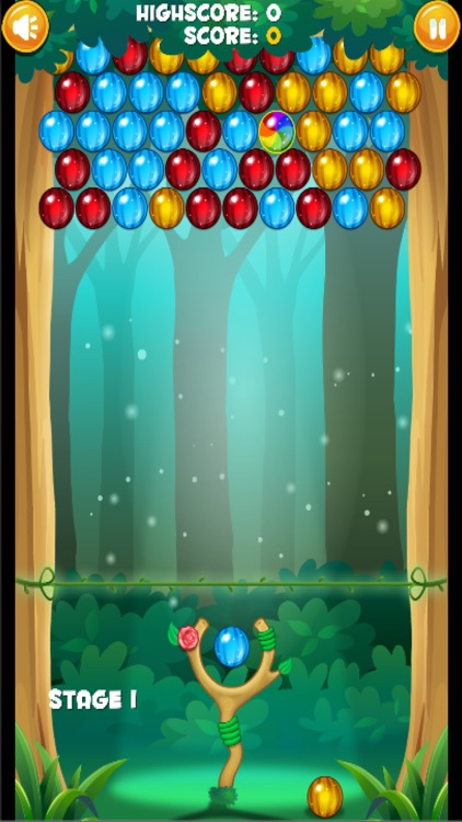 Woodland Bubble Shooter Bug Match Pop Saga