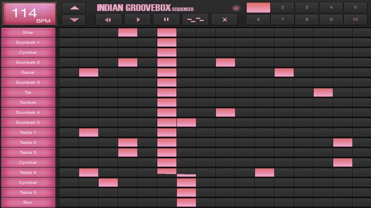 Indian GrooveBox & Drum Machine