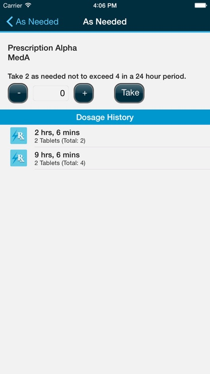 Med Helper – Pill Reminder and Medication Tracker screenshot-4