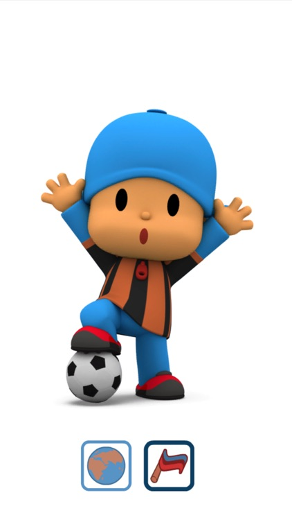 Talking Pocoyo Football Free screenshot-4