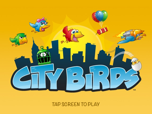 City Birds - Birdcage Blowout! Screenshot