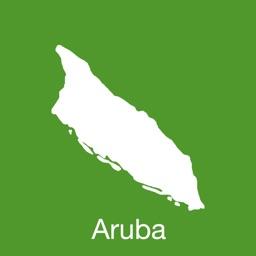Aruba GPS Map