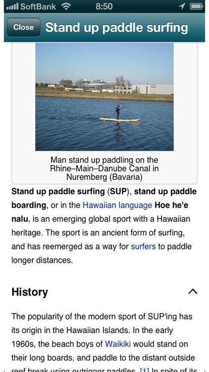SUP - Stand Up Paddling screenshot-4