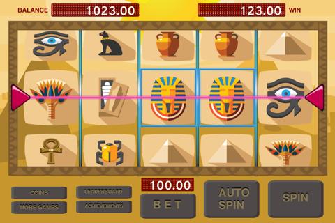 Slots - Pharaoh and Cleopatra Treasure Machine screenshot 4