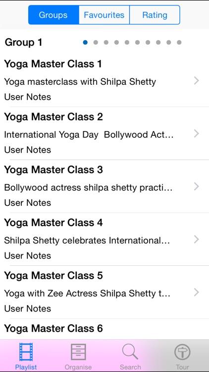 Yoga Master Class