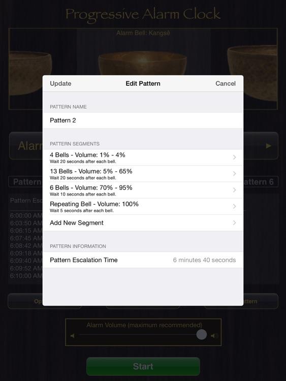 Progressive Alarm Clock for iPad screenshot-4