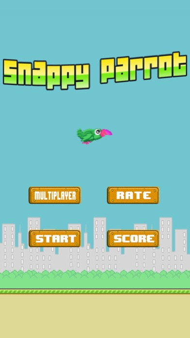 Snappy Parrot Bird Free: The revival of Rioo Bird! screenshot two