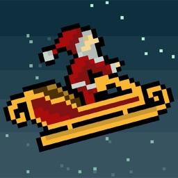 Droppin' Santa: an 8bit retro Xmas game