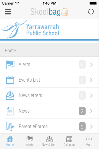 Yarrawarrah Public School - Skoolbag screenshot 2