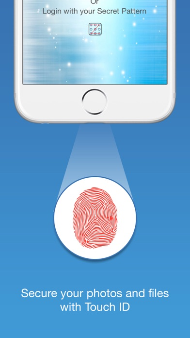 Finger-Print Camera Security with Touch ID & Secret Pattern Unlock Protect-ionのおすすめ画像3