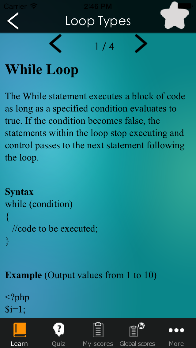 Learn PHP - Simple PHP Tutorial screenshot two
