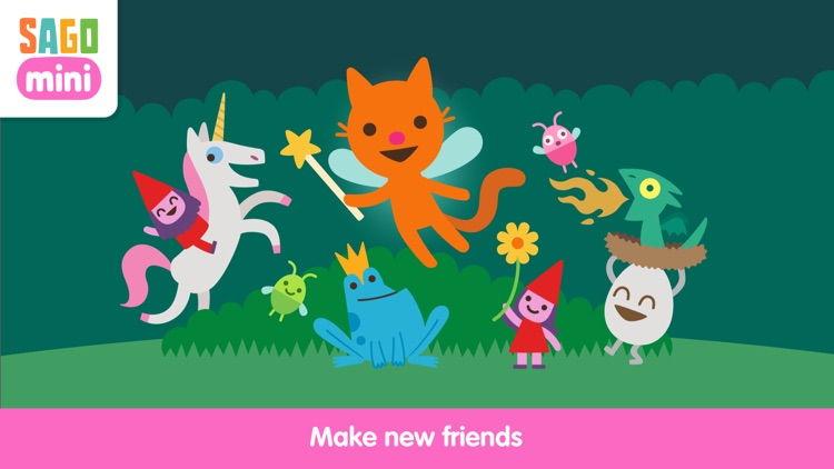 Sago Mini Fairy Tales screenshot-3