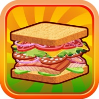 Codes for Sandwich Lunch Food Maker Mania - sim mama story & make cooking dash games for kids Hack