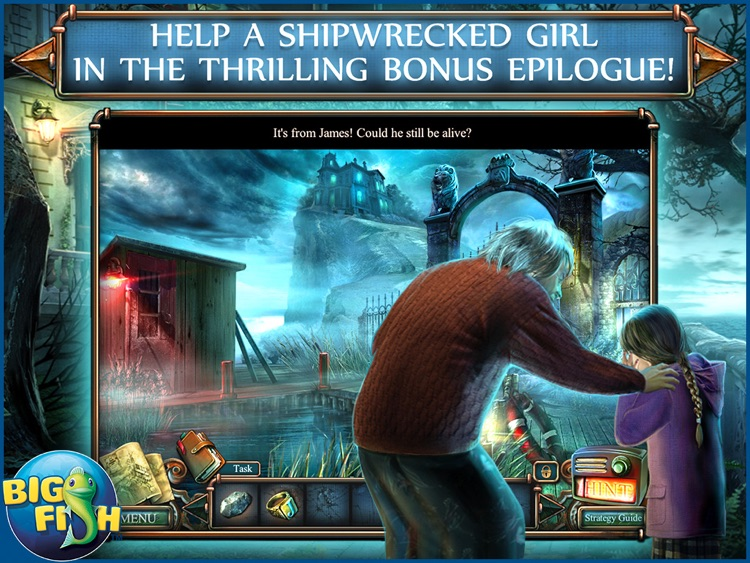 Haunted Hotel: Death Sentence HD - A Supernatural Hidden Objects Game screenshot-3