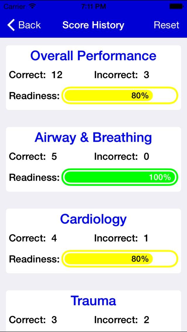 EMT Study Lite Screenshot