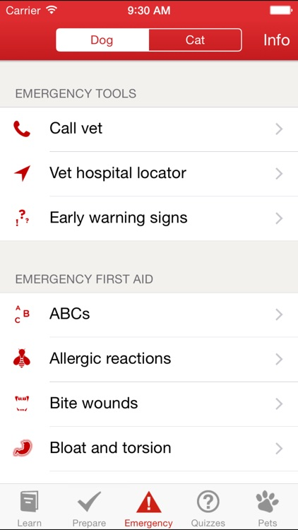 Pet First Aid: screenshot-0