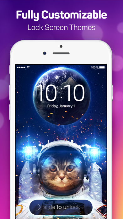 Lock Screen Maker Free - Designer Themes and Live