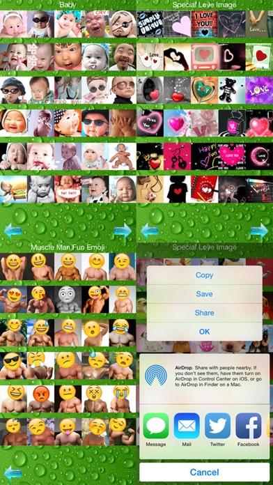Stickers+ Fun Emotion Gif Photo for Messengerのおすすめ画像4