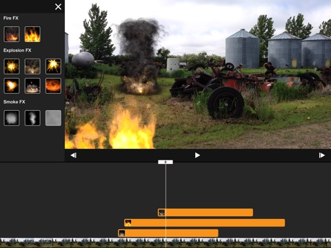 Screenshot #1 for Pyro Movie FX