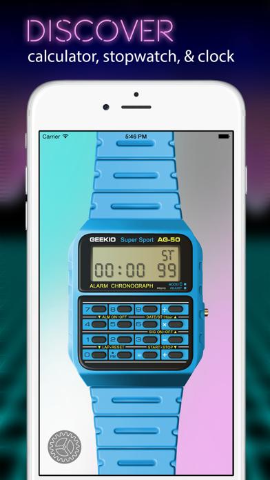 Geek Watch - Retro Calculator Watchのおすすめ画像4