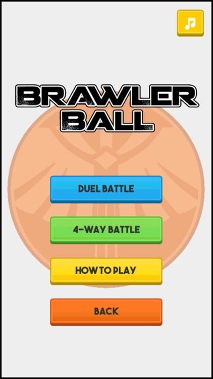 Brawler Ball - 2 Player screenshot-3