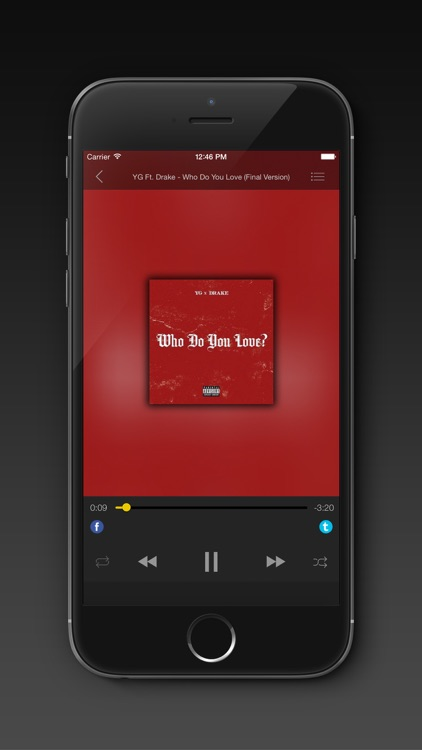 Free Mp3 Stream Manager & Music Player screenshot-4