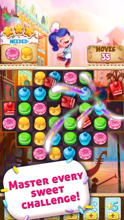 Cookie Cake Smash - 3 match puzzle game screenshot-3