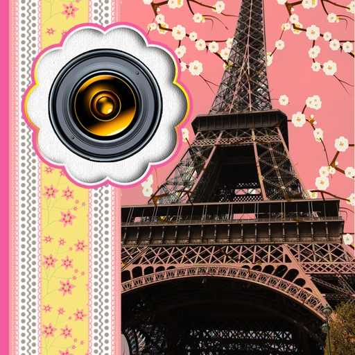 Paris Photo Collage Maker: Beautiful Pic Frames & Grids for Collages iOS App