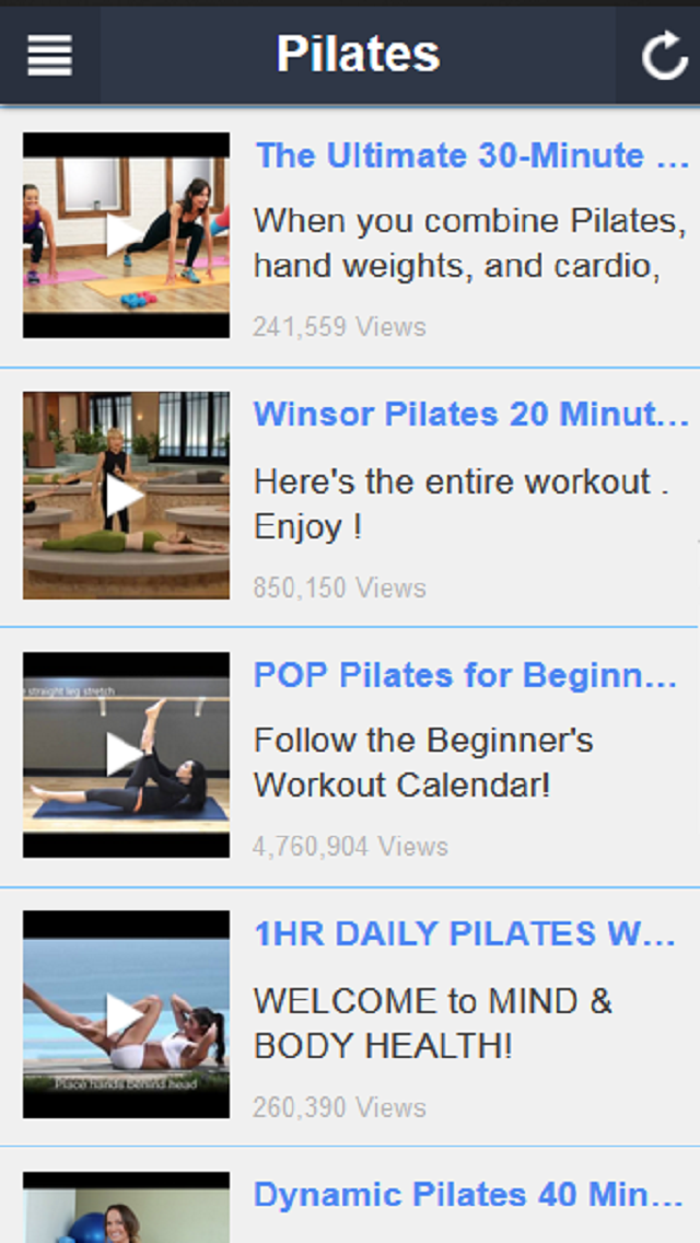download Pilates Workout - Beginner Pilates and Core Stabililty Exercises apps 1