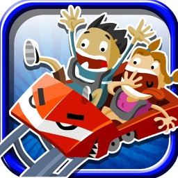 Scary Rollercoaster Theme Park Rush - Tilt Strategy Game