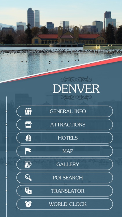 Denver City Offline Travel Guide