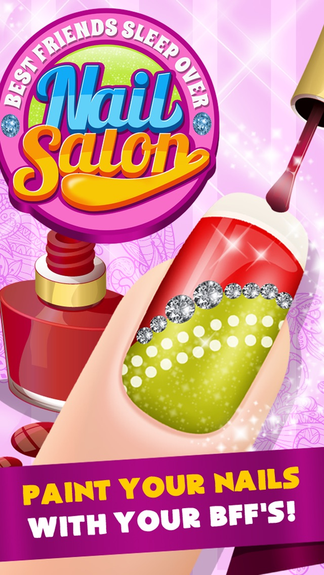 A Best Friends Sleepover Nail Salon Maker - Free Games - by 12 POINT ...