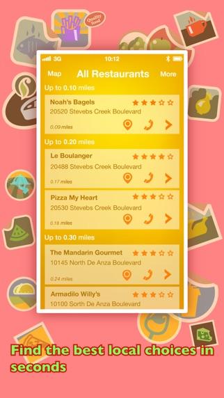 Screenshot for ΠουΝαΦάω? PRO - Βρείτε εστιατόρια χρησιμοποιώντας το GPS in Greece App Store