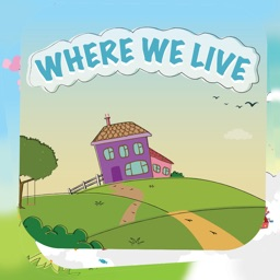Where We Live - Kids Story Book