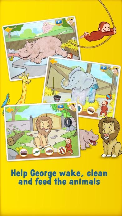 Curious George: Zoo Animalsのおすすめ画像2
