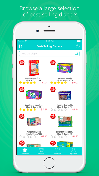 DiaperFit - Find the Best Diaper for Your Baby at the Lowest