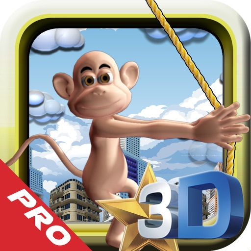 Super Gorilla City 3D PRO icon