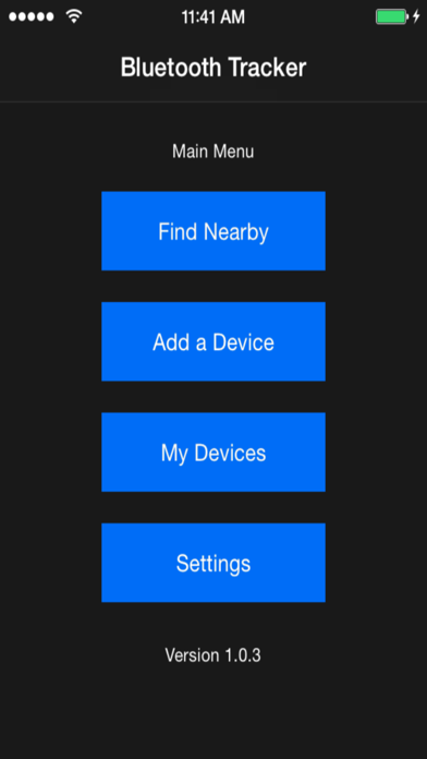 CovertTrack Bluetooth Tracker screenshot