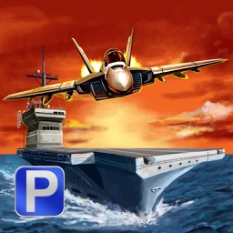 Aircraft Carrier Parking PRO - Full F18 Navy Jet Emergency Landing Version