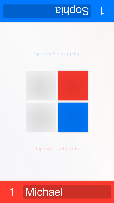 TapForTwo - duel with friends on one device Screenshot on iOS