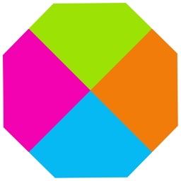 Polygons Four Dots