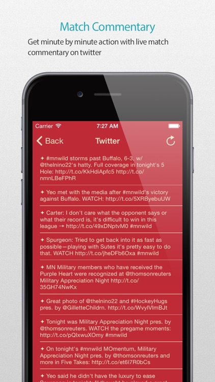 Minnesota Hockey Alarm Pro screenshot-4