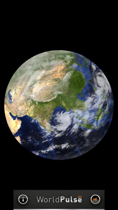 WorldPulse Earth Weather Clouds & Temperatureのおすすめ画像5
