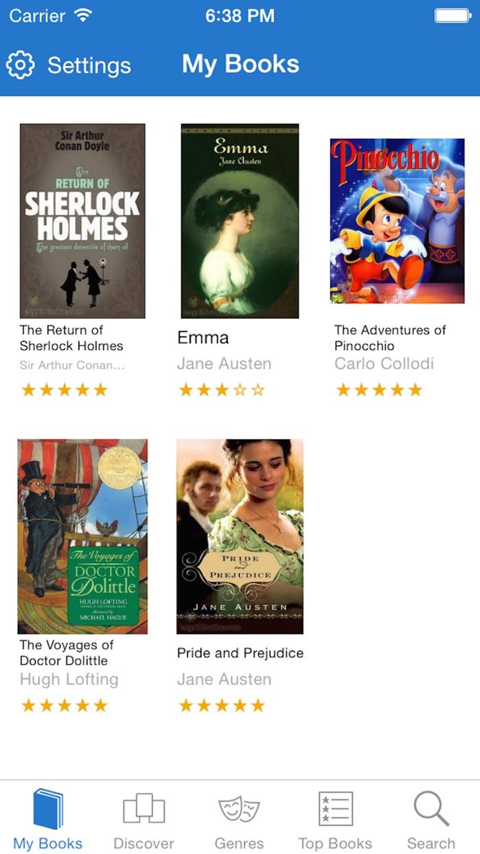 Loyal Books - free audiobooks and ebooks Screenshot