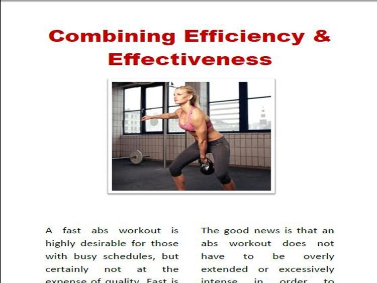 Ab Workouts For Men & Woman Magazine